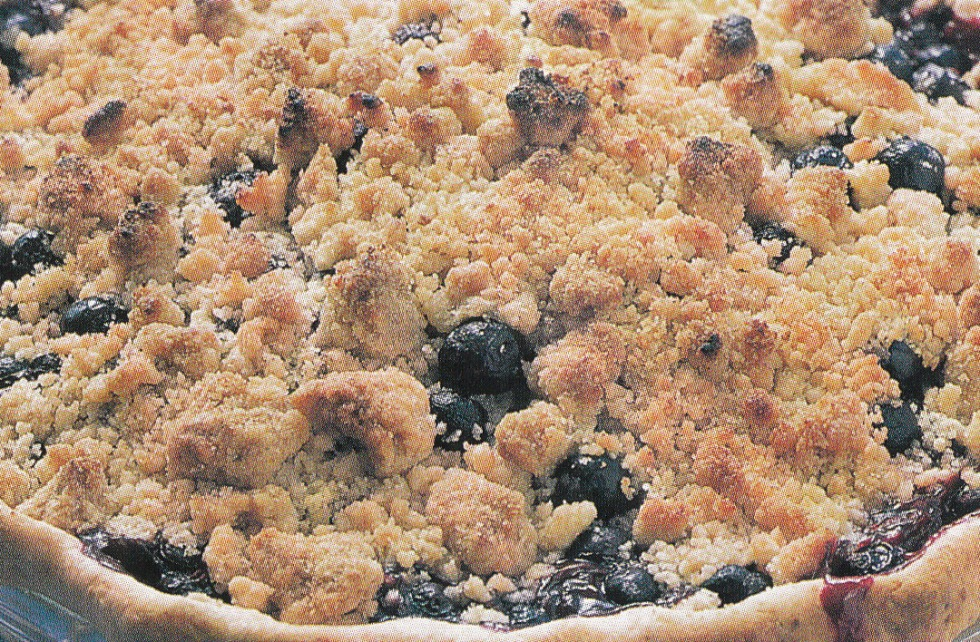 Blueberry Cupcake Pie