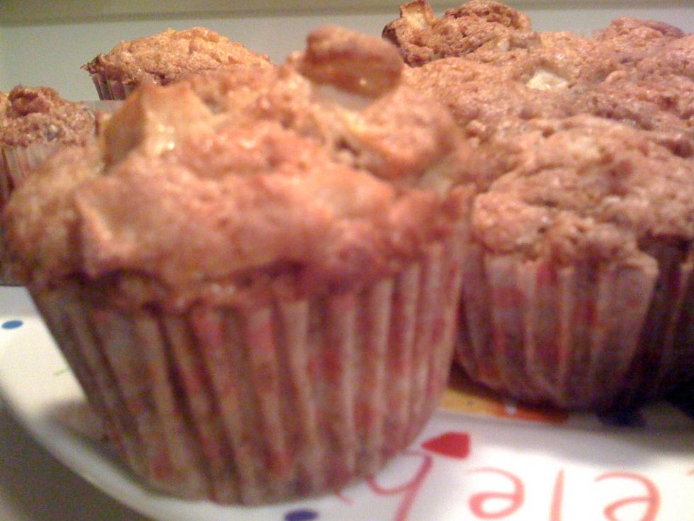 Milopita Apple Muffins