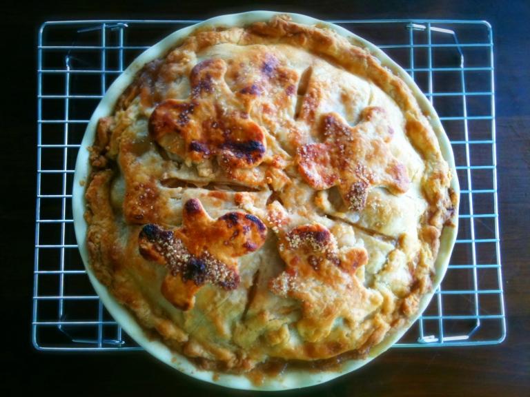 Apple Dulce de Leche Pie