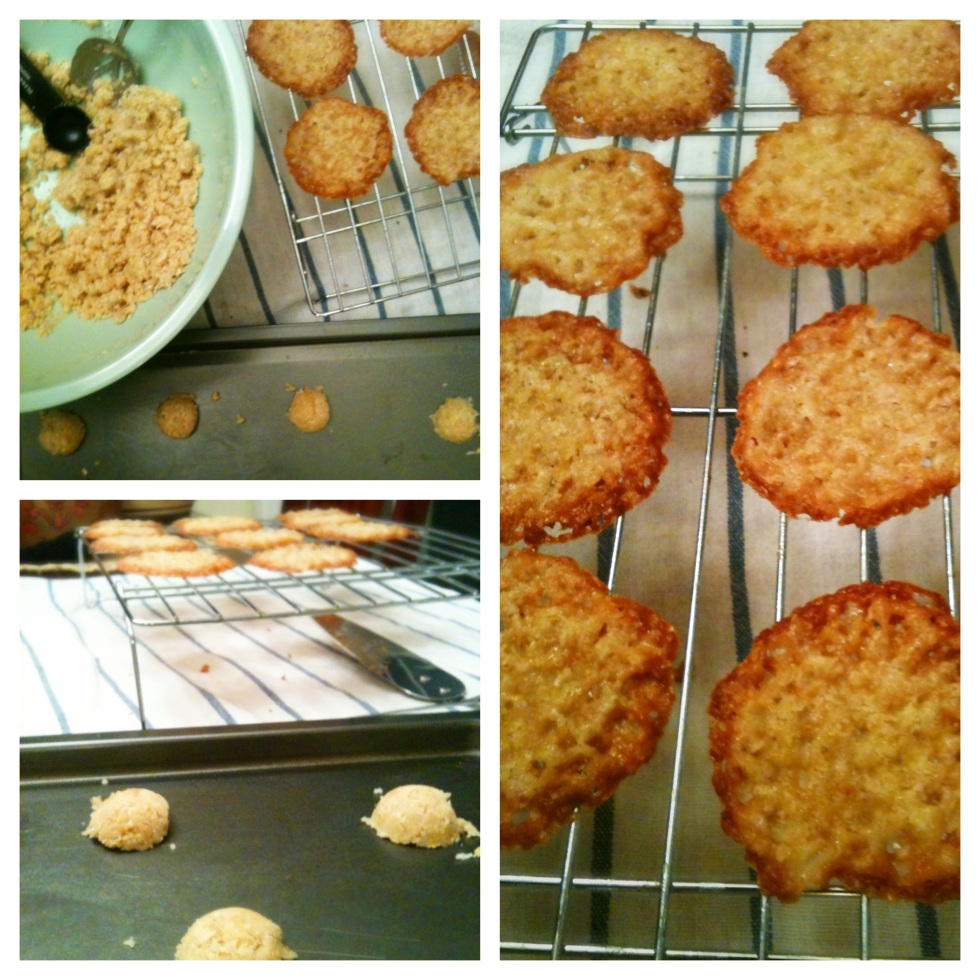 Oatmeal Lace Cookie