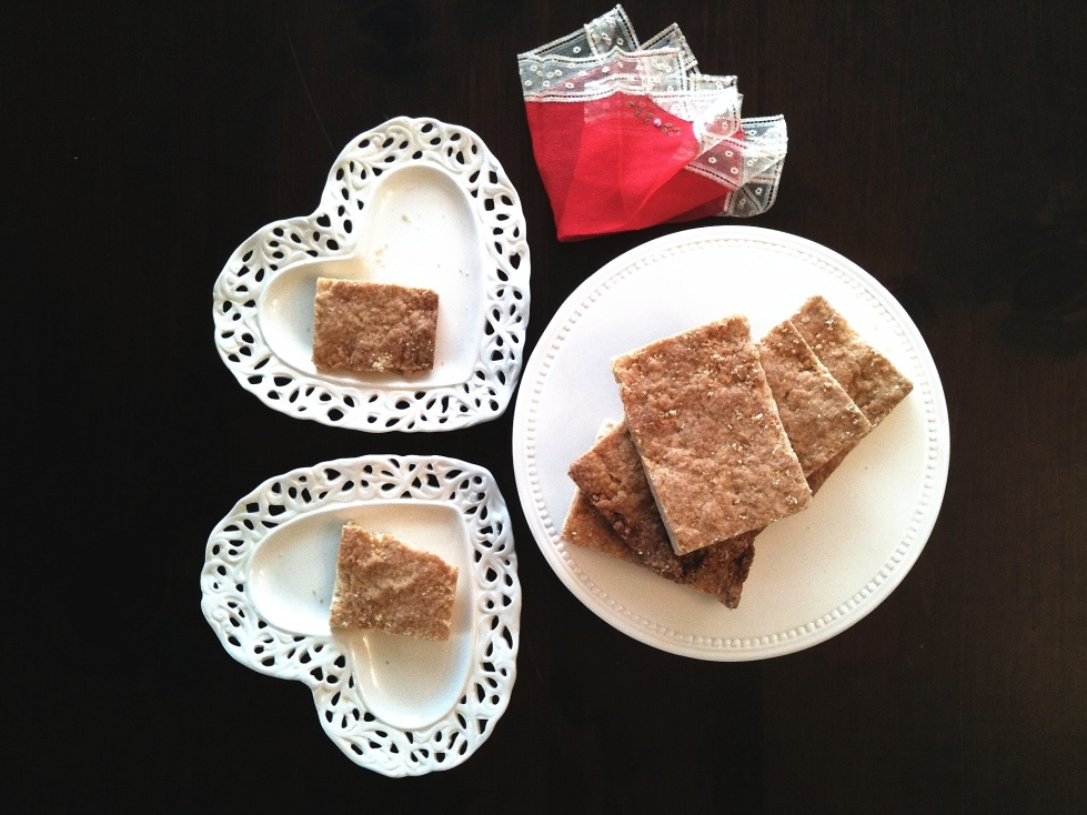Shortbread Buttery Cookie Bars