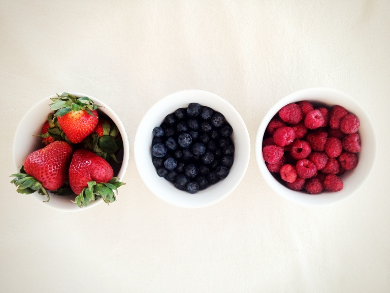 Strawberry, Blueberry & Raspberry