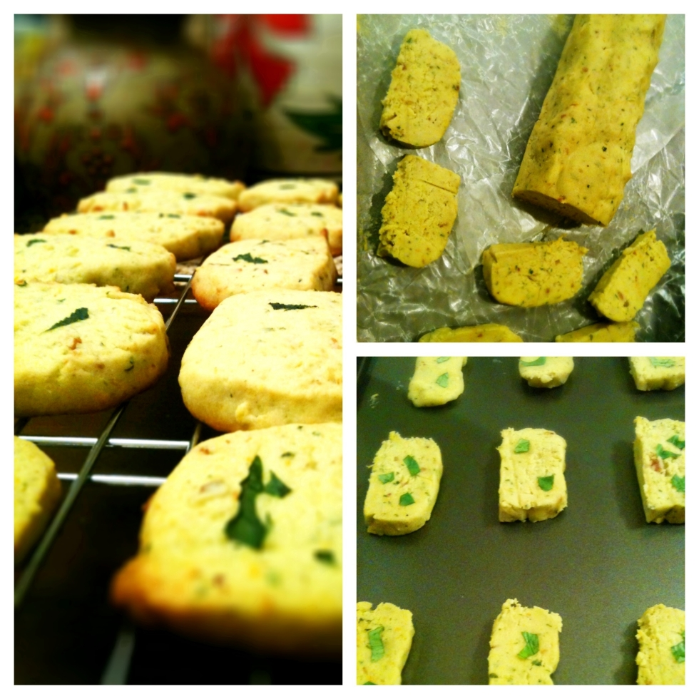 Pesto Orange Sable Cookie
