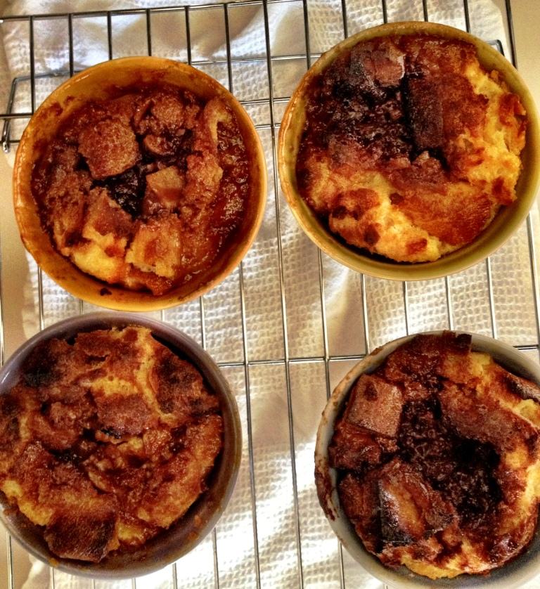 Chocolate Caramel Bread Pudding