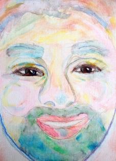 Jeff #watercolor 1 - c2014